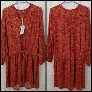 🆕 April Cornell boho tunic/mini dress size XL